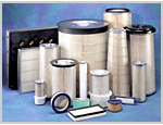 Selection of engine air filters
